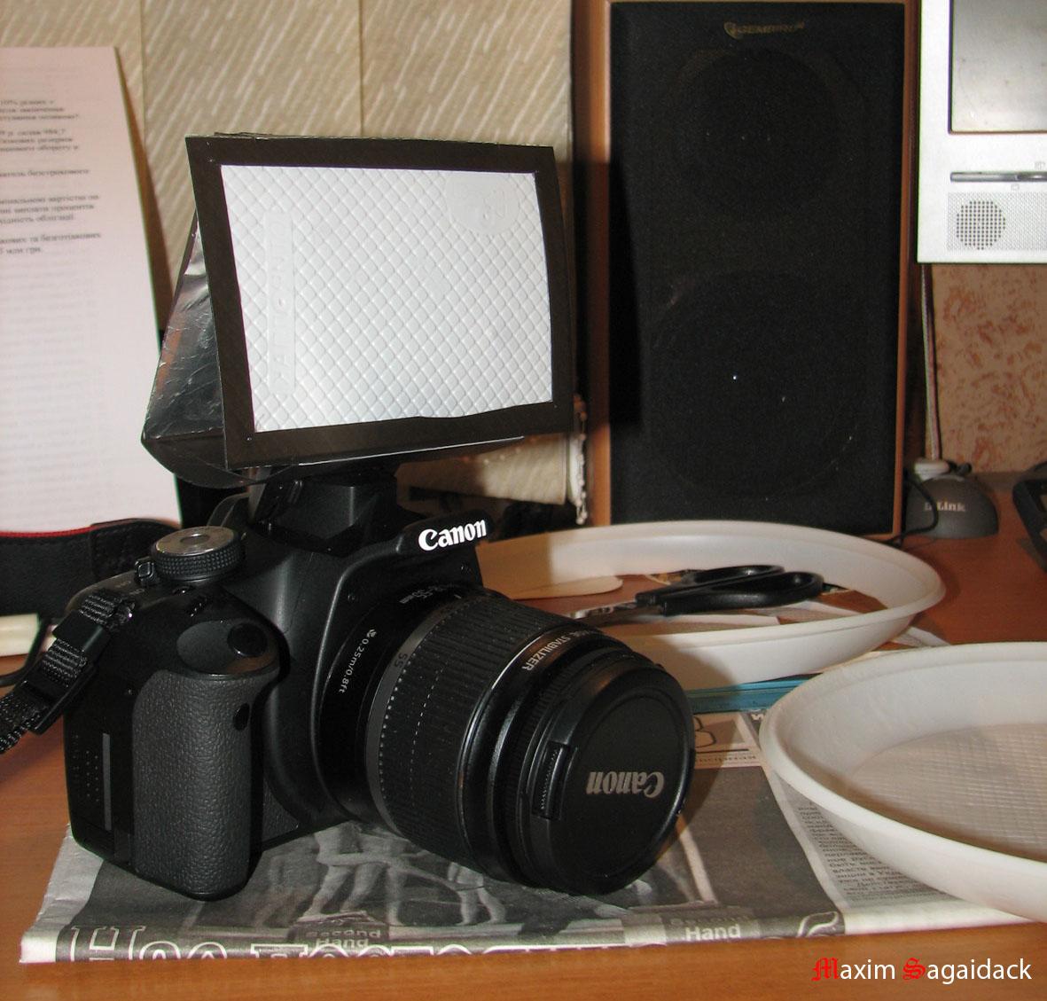 Софтбокс для фотоаппарата своими руками 58