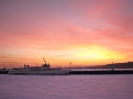 Азовский зимний вечер